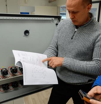 Sähkökaappi ja instrumentaatiosuunnittelu